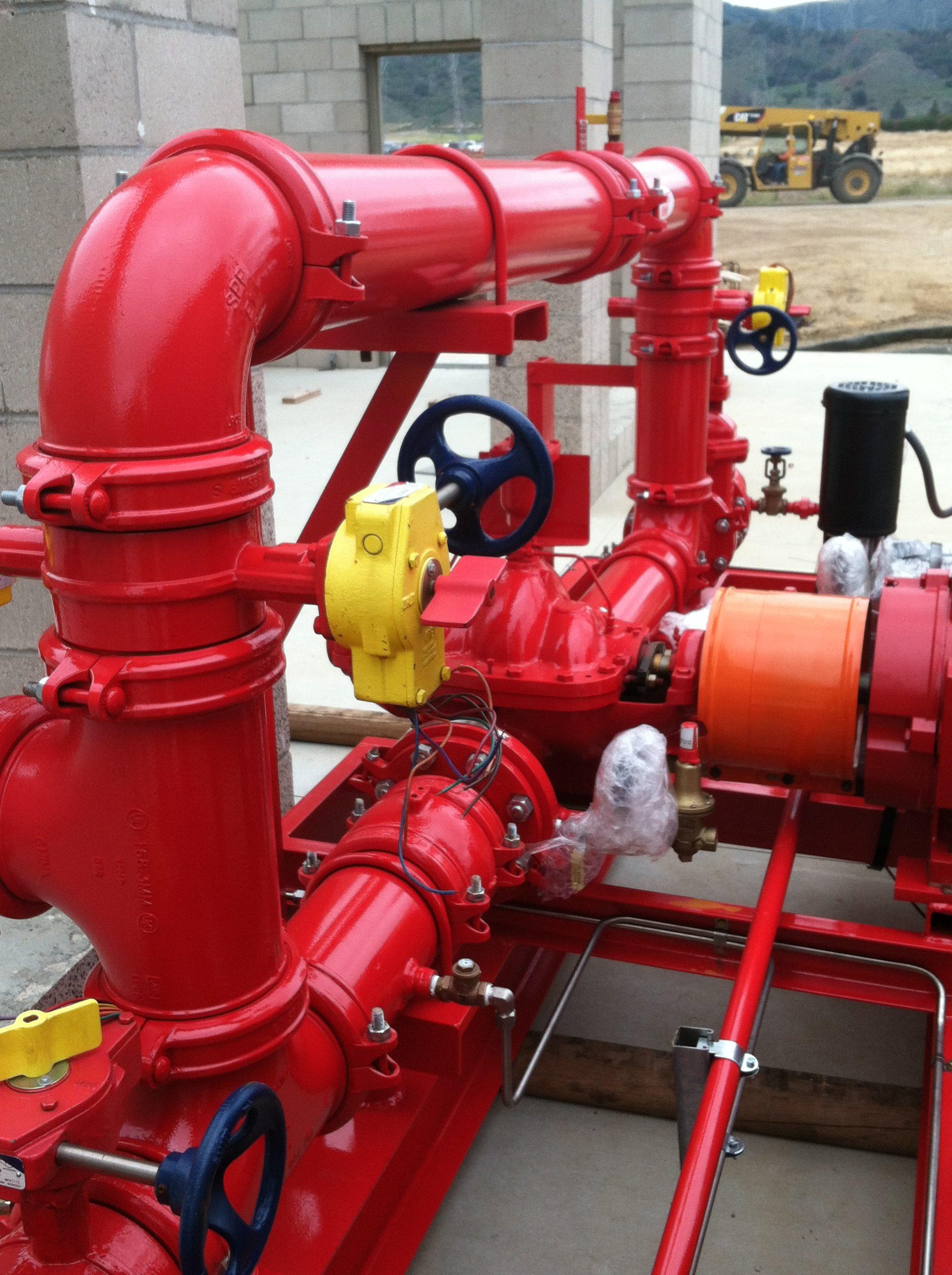 Fire Sprinkler Systems – Deep Blue Integration, Inc